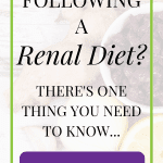 A Low Potassium Diet – The Key To A Renal Diet