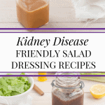 Making Your Own Salad Dressings