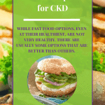 Fast Food Options For Ckd