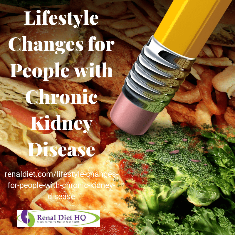 Lifestyle Changes For People With Chronic Kidney Disease