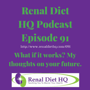 Rdhq Podcast 91: What If It Works? My Thoughts On Your Future.
